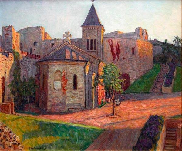 Church View - Nikolay Bogdanov-Belsky