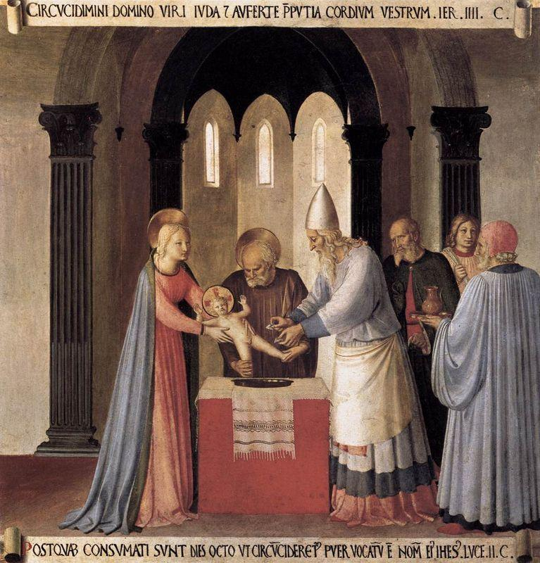 Circumcision - Fra Angelico