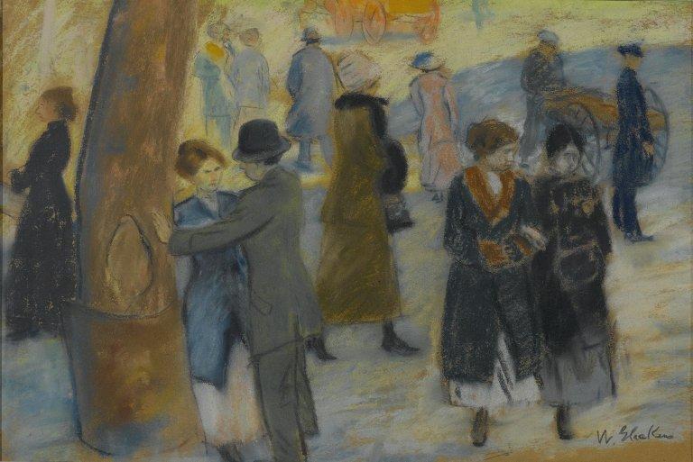 City Scene - William James Glackens