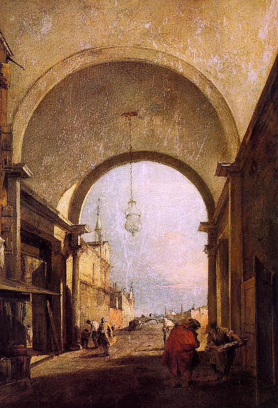 City View - Francesco Guardi