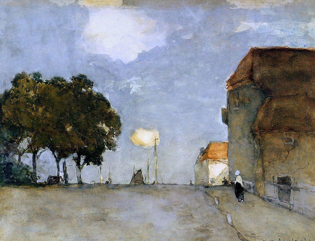 City view - Cornelis Springer