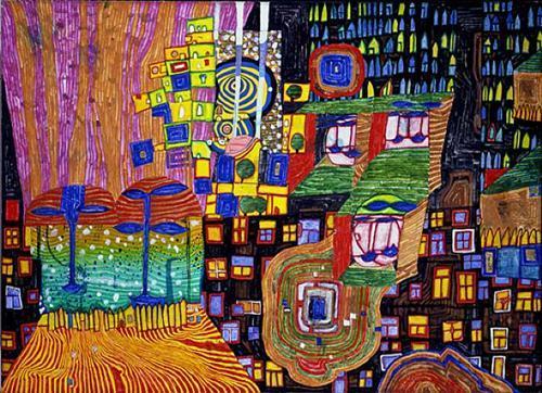 992 City View - Friedensreich Hundertwasser