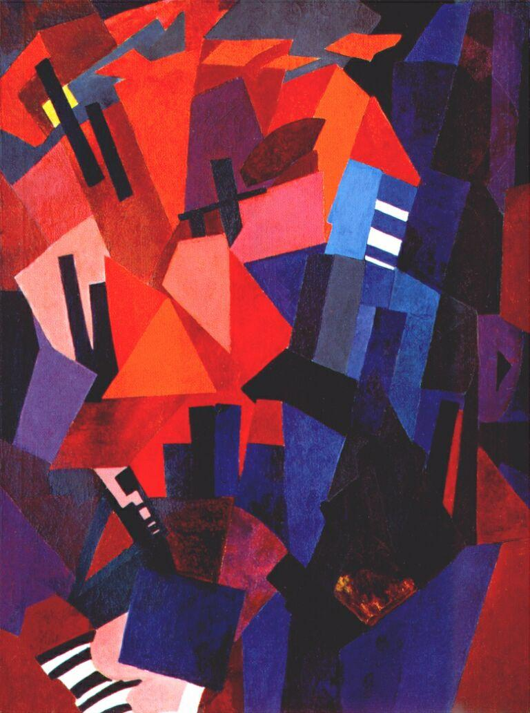 Cityscape (composition - Aleksandra Ekster