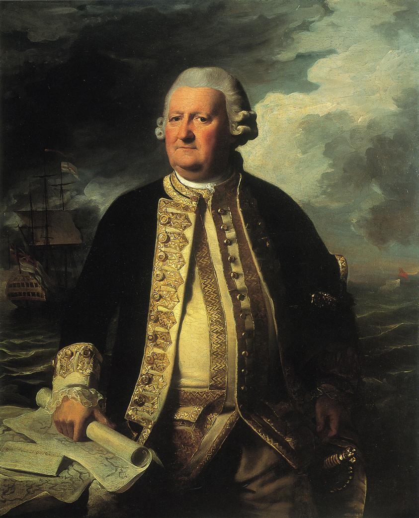 Clark Gayton, Admiral of the White - John Singleton Copley