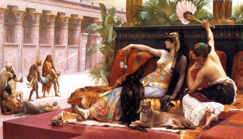 Cleopatra Testing Poisons on Those Condemned to Death - Alexandre Cabanel