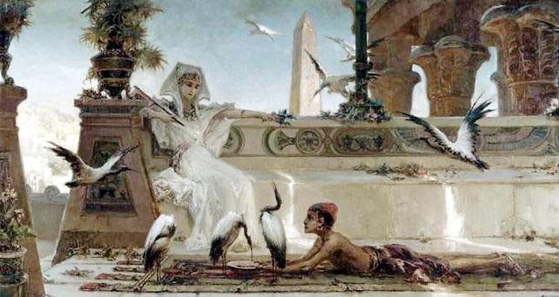 Cleopatra - Wilhelm Kotarbinski