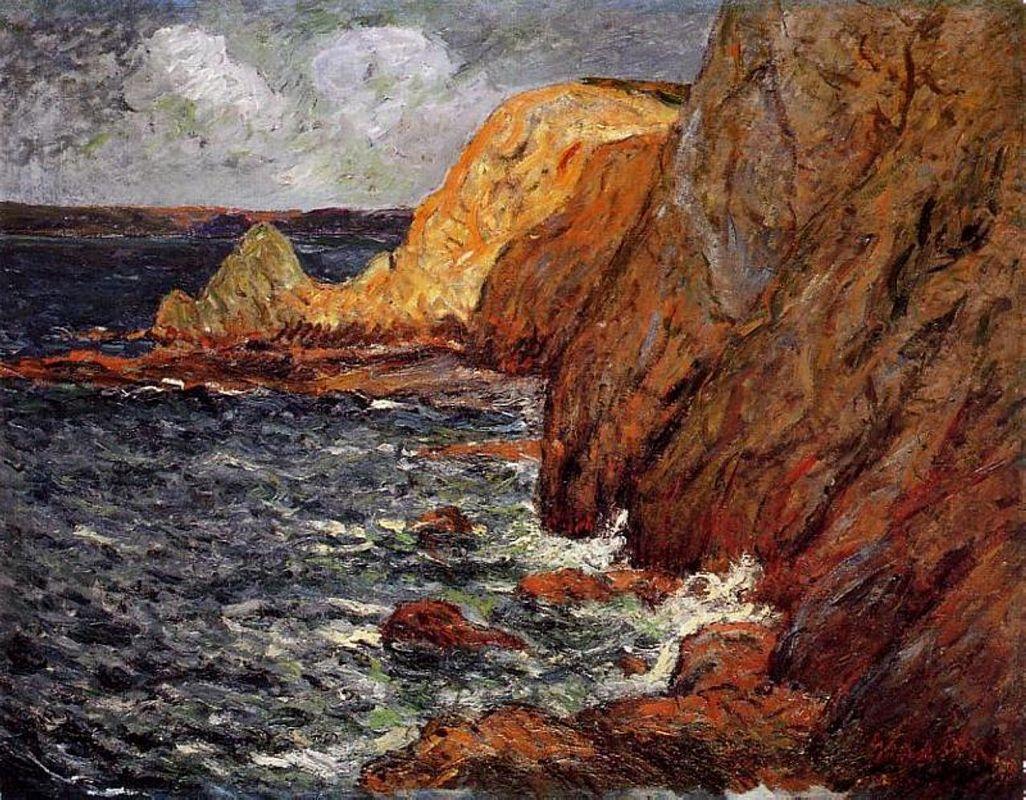 Cliffs - Henri Rousseau