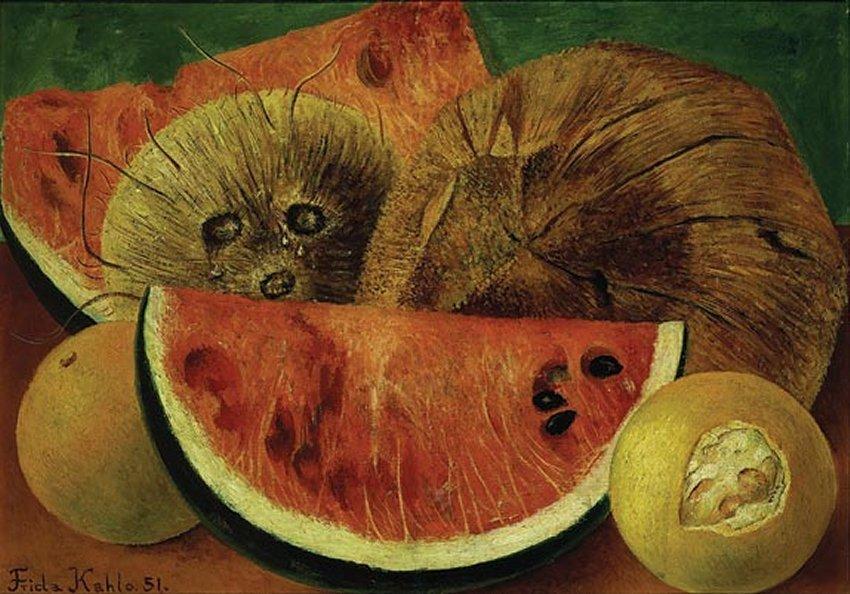 Coconuts - Frida Kahlo