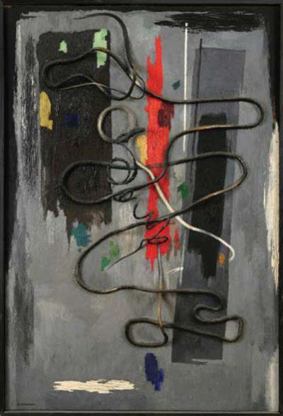 Collage in Gray  - Jury Annenkov