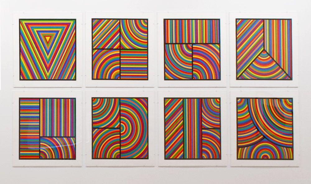 Color Bands (Wadsworth Portfolio)  - Sol LeWitt