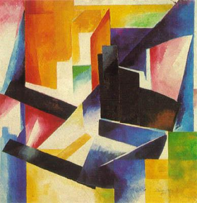 Color construction - Aleksandra Ekster