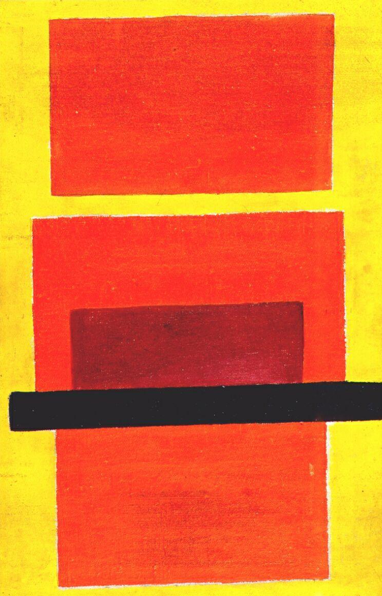Color Painting (Non-Objective Composition) - Olga Rozanova