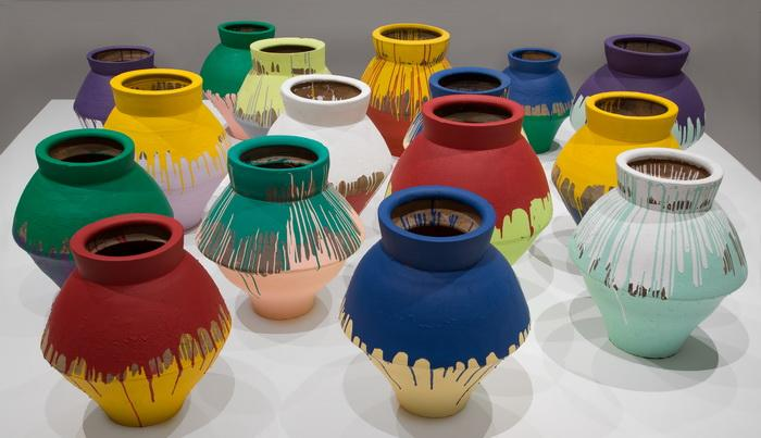 Colored Vases - Ai Weiwei