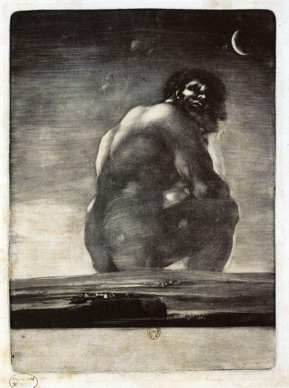 Colossus - Francisco Goya