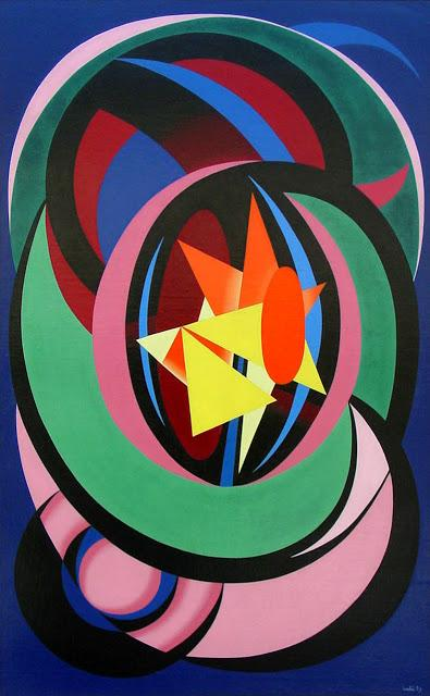 Combat Clair-Obscur  - Auguste Herbin
