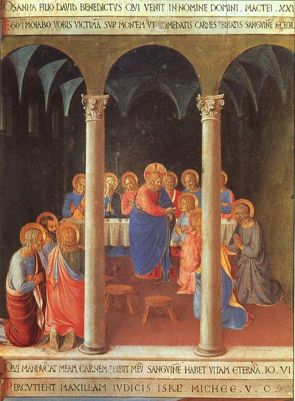 Communion of the Apostles - Fra Angelico