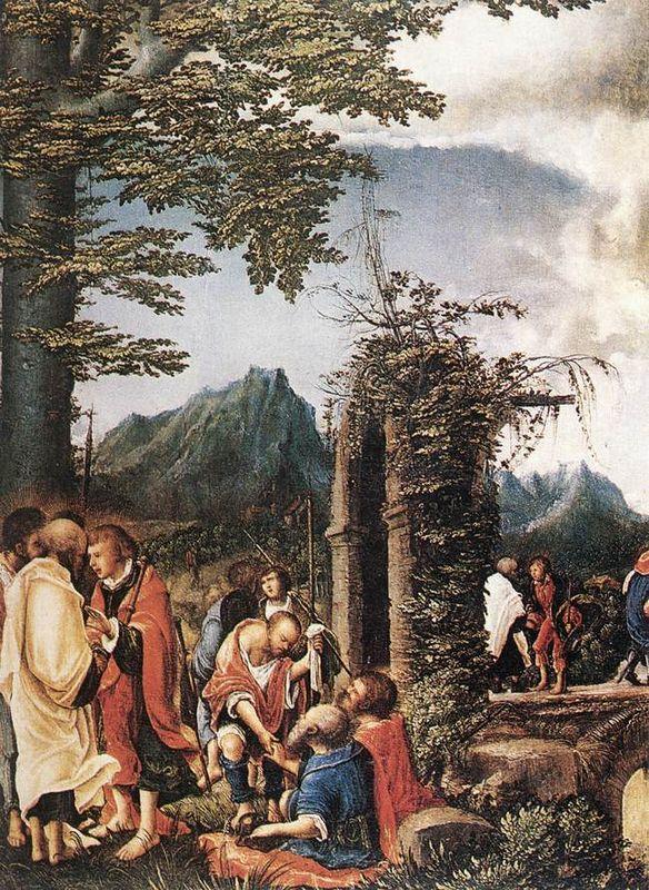 Communion of the Apostles - Albrecht Altdorfer