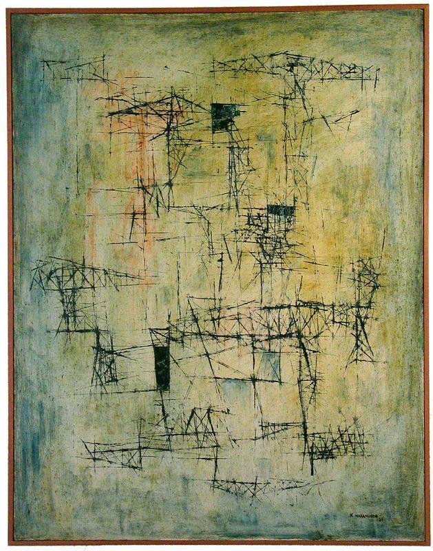 Composition 10-51 - Kazuo Nakamura