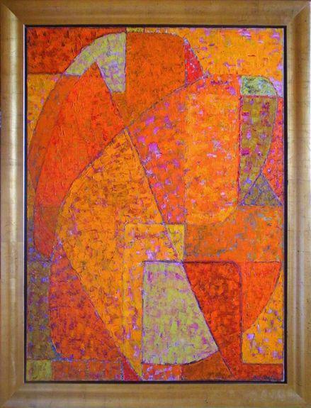 Composition orange - Alexandre Istrati