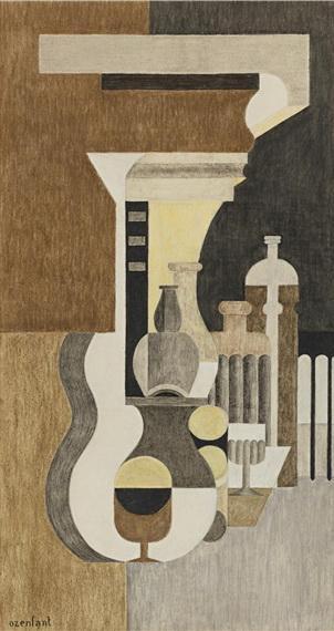 Composition puriste - Amedee Ozenfant