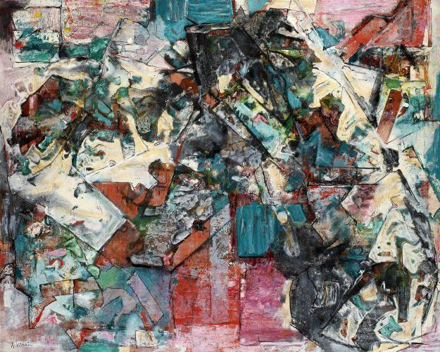 Composition vert - Alexandre Istrati
