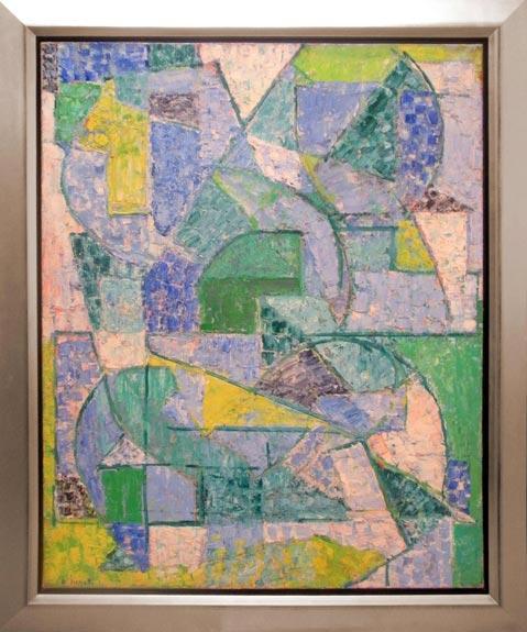 Composition verte - Alexandre Istrati