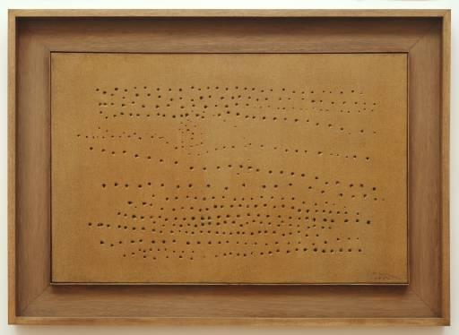 Concept Spatiale - Lucio Fontana