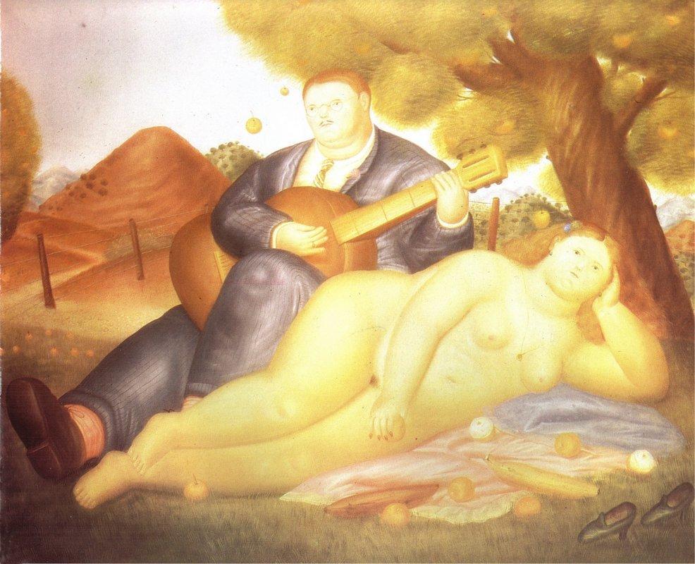 Concert in the Countryside - Fernando Botero