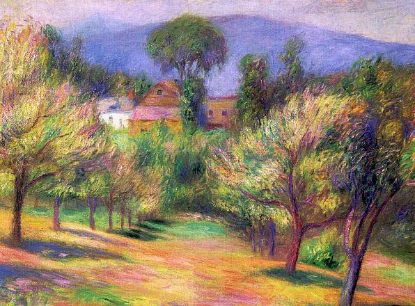 Connecticut landscape - William James Glackens