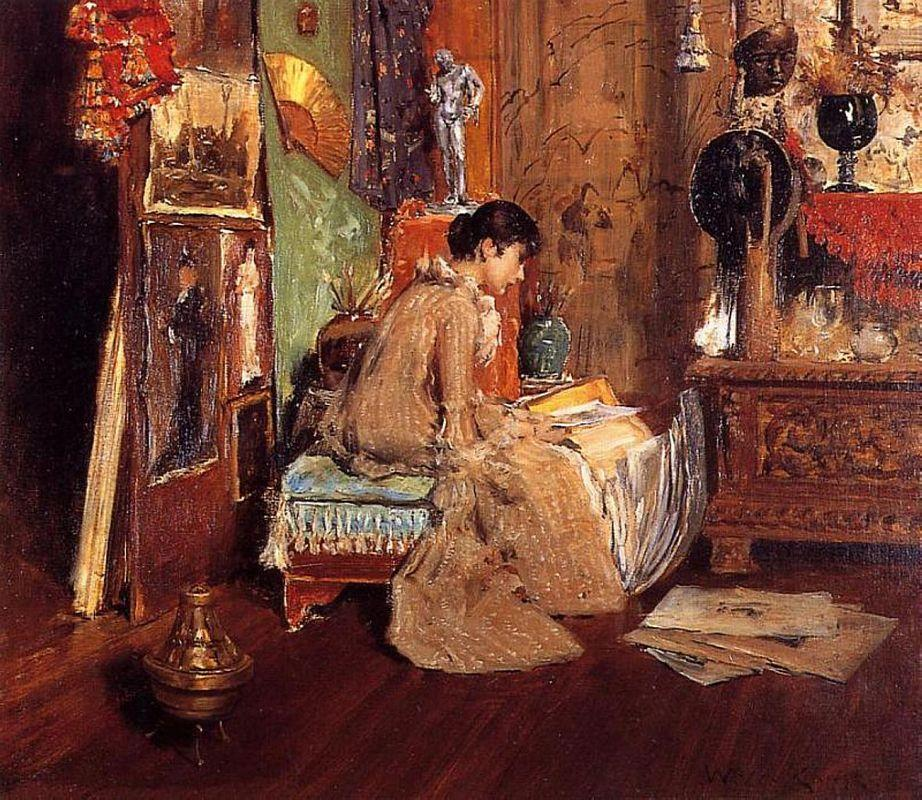 Connoisseur - The Studio Corner - William Merritt Chase