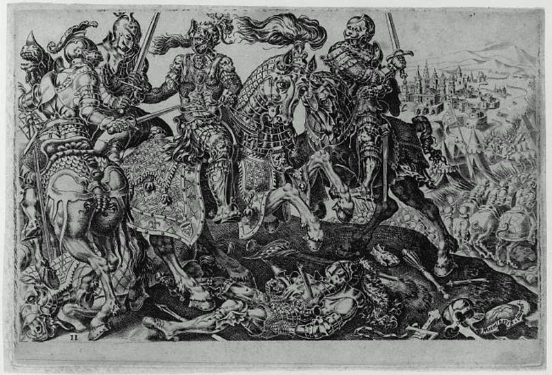 Conquest of Tunis (Victory of Charles V) - Maerten van Heemskerck