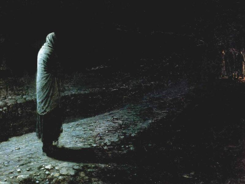 Conscience, Judas - Nikolai Ge