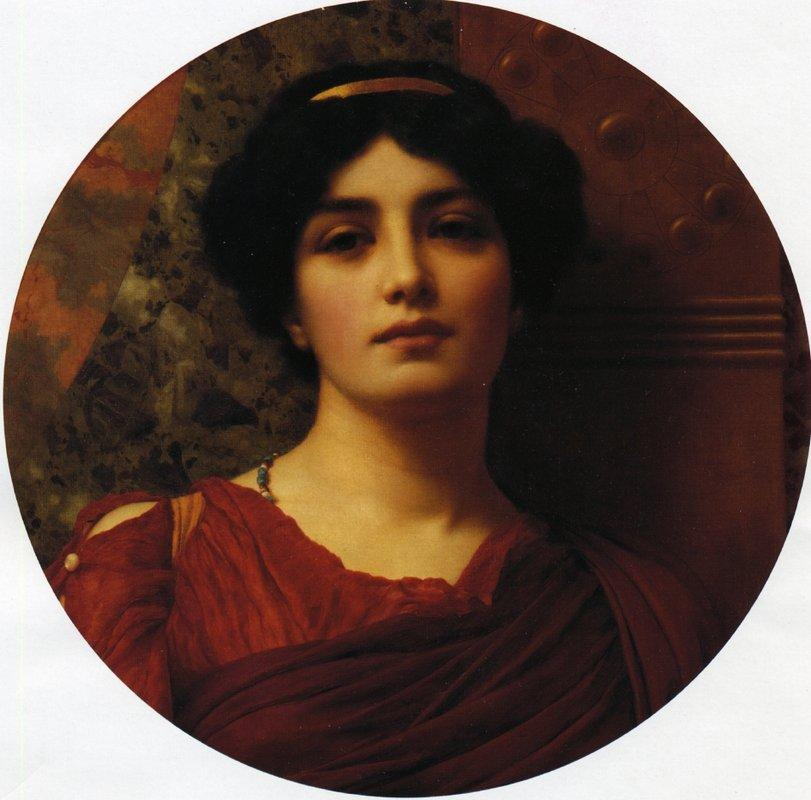 Contemplation - John William Godward