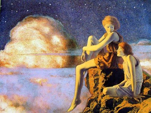 Contentment - Maxfield Parrish