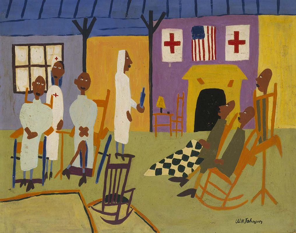 Convalescents from Somewhere - William H. Johnson