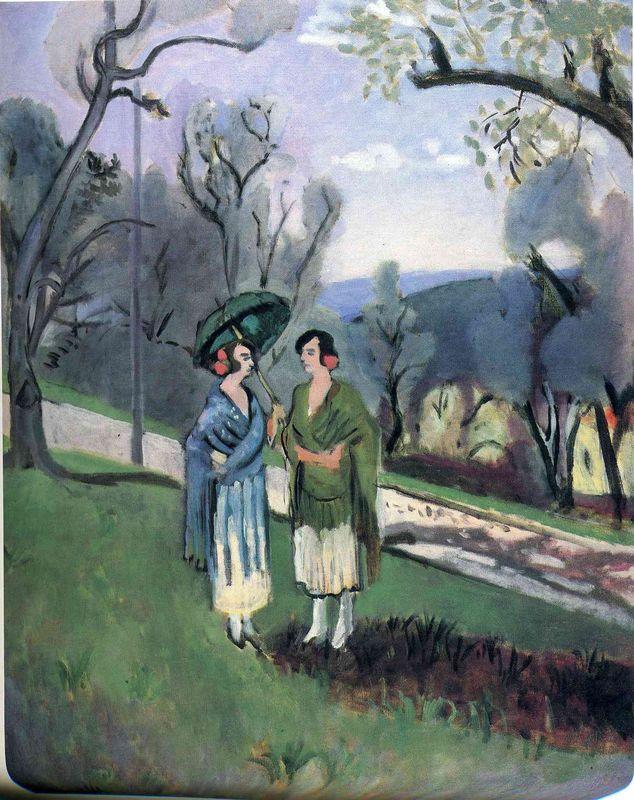 Conversation under the Olive Trees - Henri Matisse
