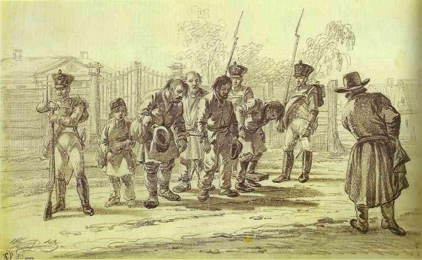 Convicts under Escort - Alexander Orlowski
