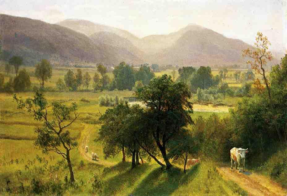 Conway Valley, New Hampshire - Albert Bierstadt