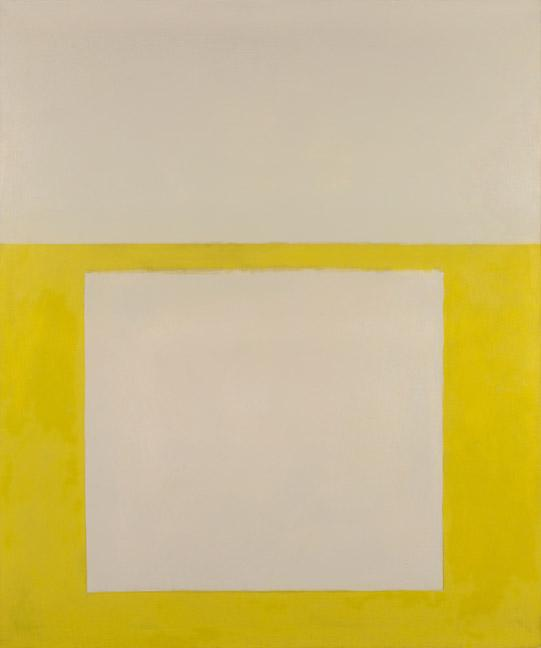 """""""Cool"""" Series No. 2 (Yellow over Tan) - Perle Fine"""