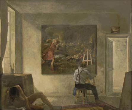 Copying Titian - Yiannis Tsaroychis