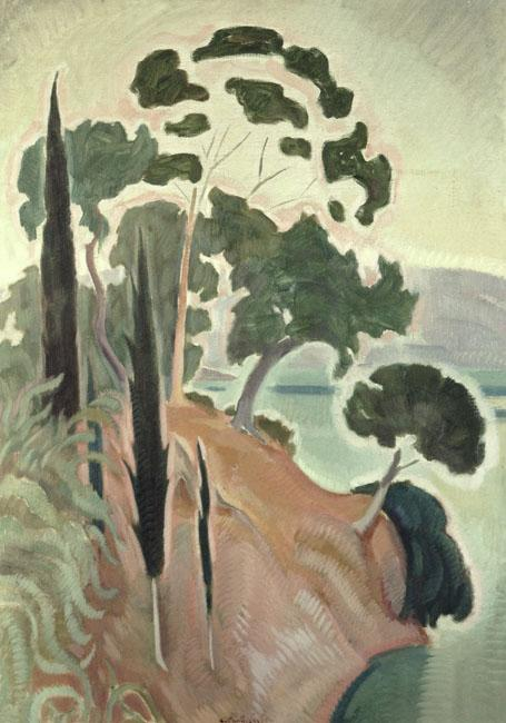 Corfu Landscape - Konstantinos Parthenis