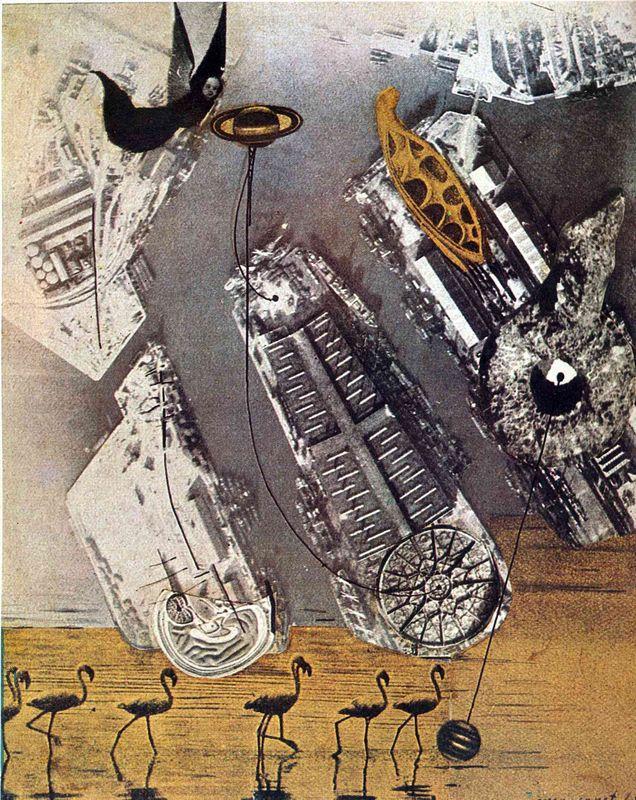 Cormorants - Max Ernst