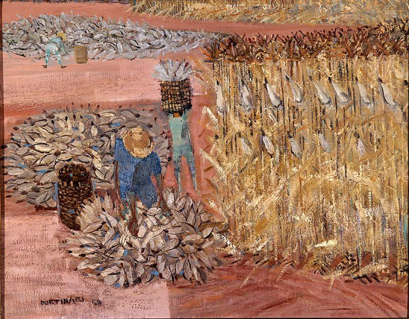 Corn harvest  - Candido Portinari