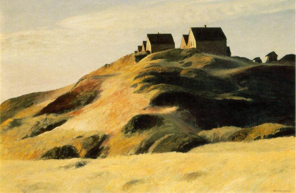 Corn Hill - Edward Hopper