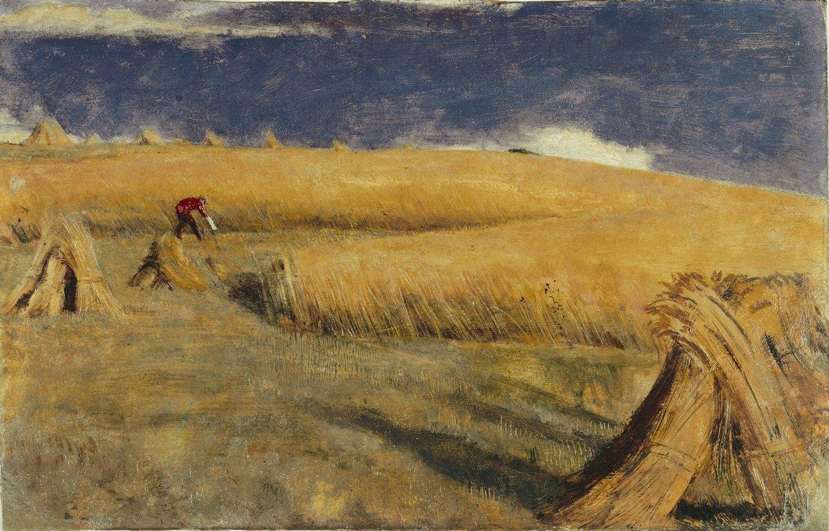 Cornfield at Ewell - William Holman Hunt