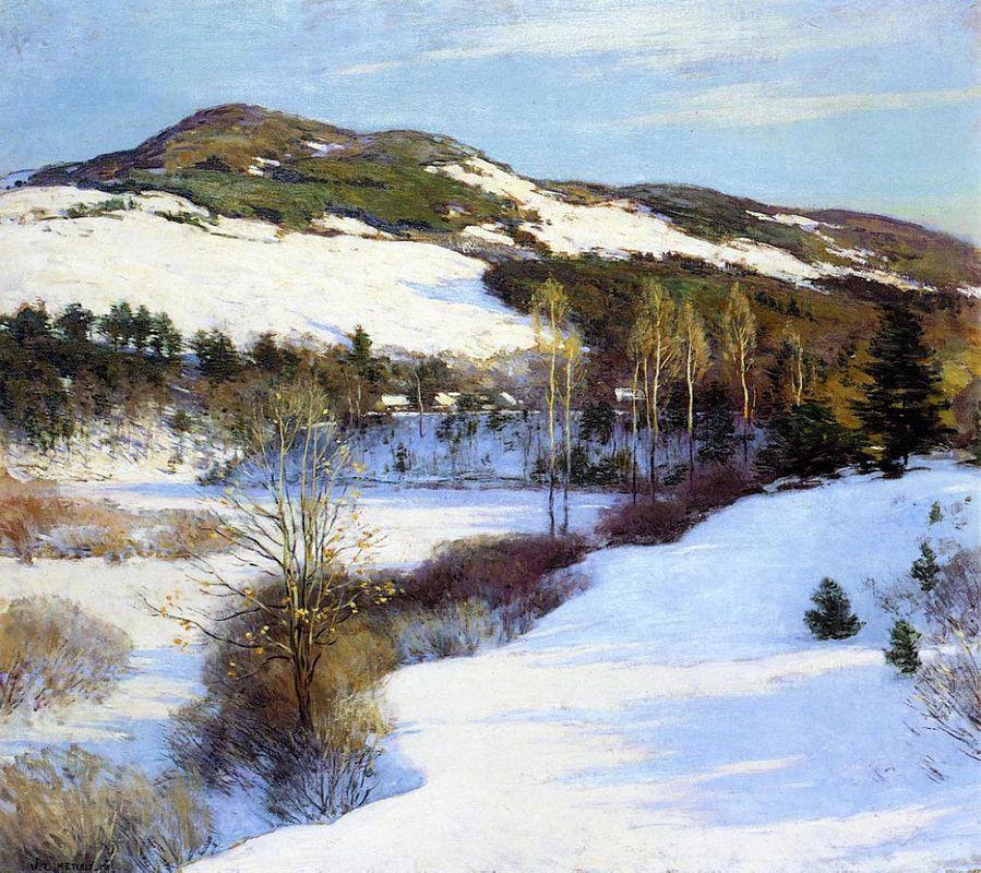 Cornish Hills - Willard Metcalf