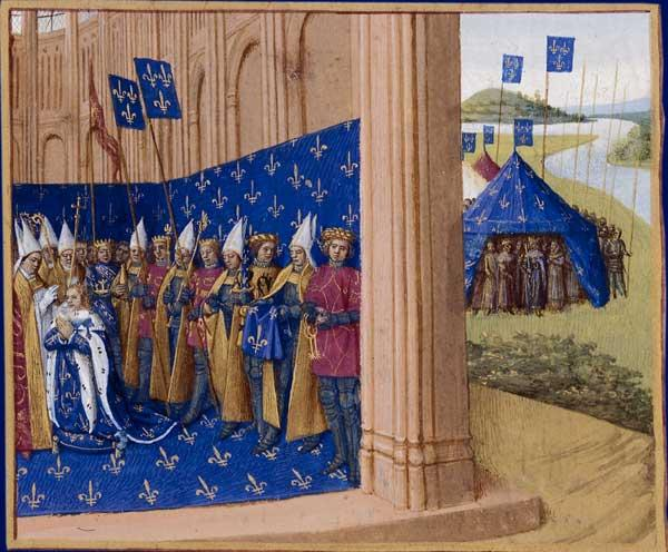 Coronation of Lothair - Jean Fouquet