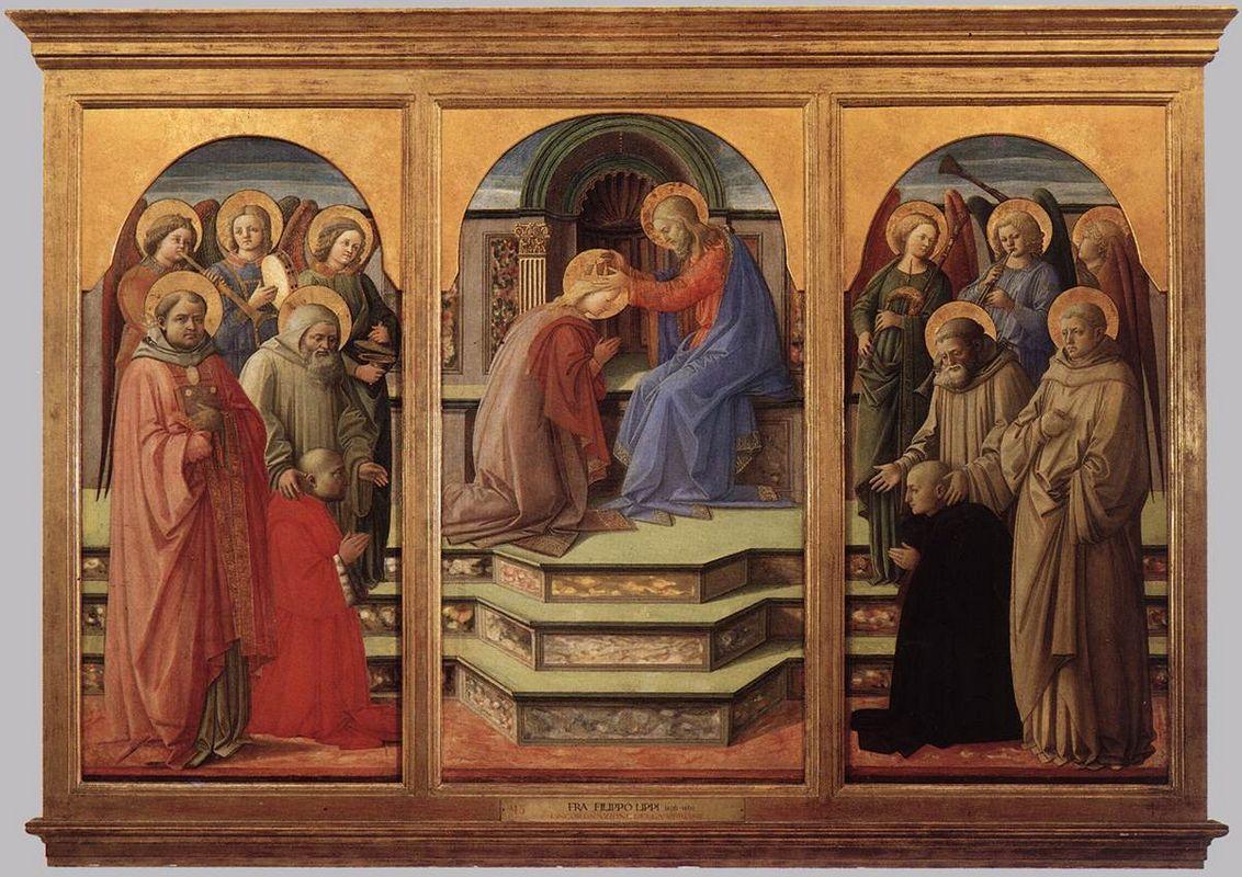 Coronation of the Virgin - Filippo Lippi