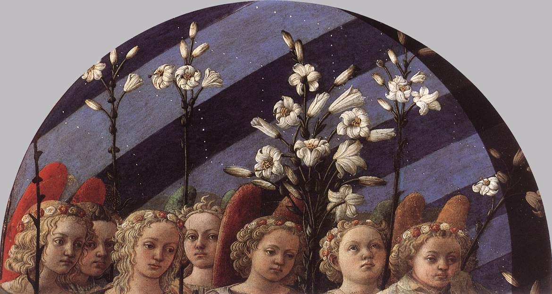 Coronation of the Virgin (detail) - Filippo Lippi