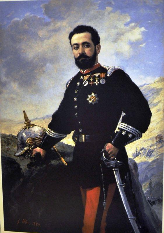 Coronel Francisco E. Contreras  - Francisco Oller